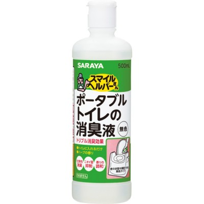 日本SARAYA Smile Helper座廁消臭劑(無色) 500mL